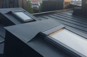SSAB i Velux метал і вікна