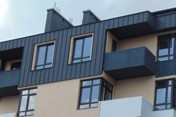фальц фасаду та покрівлі у Львові
