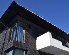 Сучасний будинок з клінкерної цегли