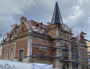 реконструкція даху на Уласа Самчука